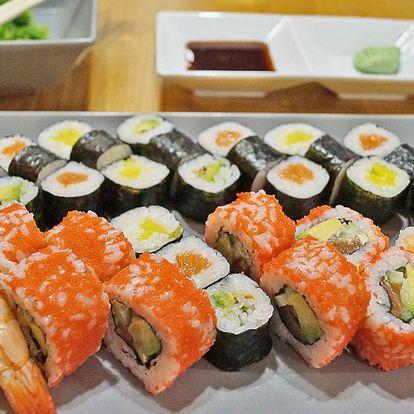 Sushi sety s 20 až 38 kousky i pro take away