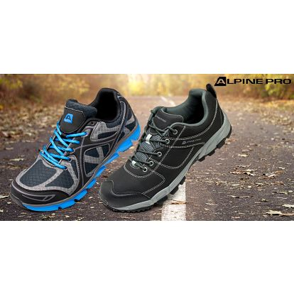 Treková i sportovní pánská obuv Alpine Pro