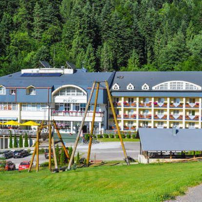 Léto u Slovenského ráje: Hotel Plejsy ***