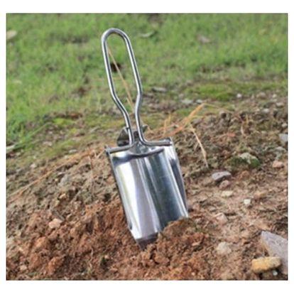 Mini skládací zahradní lopatka