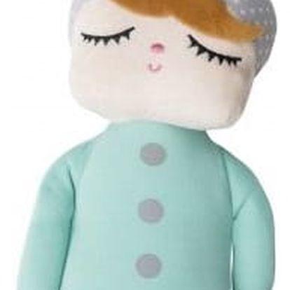 miniroom Králičí panenka Lille Kanin Babyboy Mint, zelená barva, textil