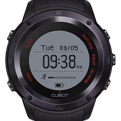 Chytré hodinky CUBOT F1 černý (ACU036)