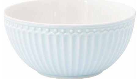 GREEN GATE Miska Alice pale blue, modrá barva, porcelán