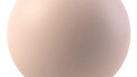 COOEE Design Kulatá váza Ball Dusty Pink 10 cm, růžová barva, keramika