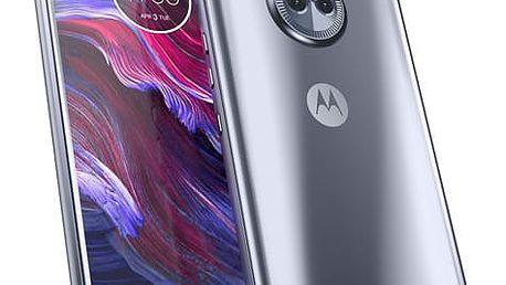 Mobilní telefon Motorola Moto X4 Dual SIM modrý + dárek (PA8X0007CZ)
