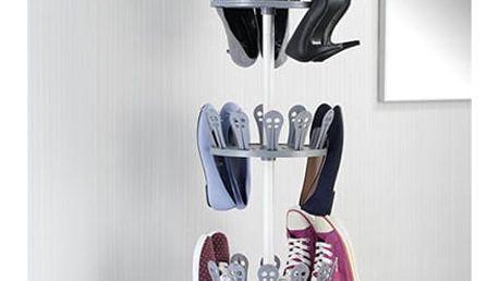 Teleskopický organizér na obuv ACHILLES - možnost uložení 36 párů bot,WENKO