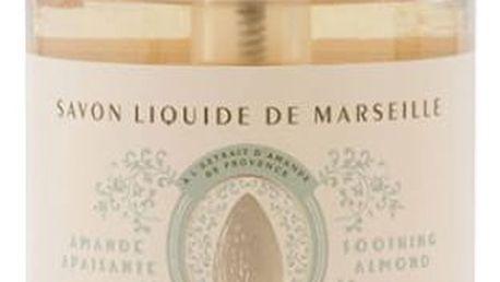 Panier des Sens Zklidňující tekuté mýdlo - mandle, krémová barva, plast