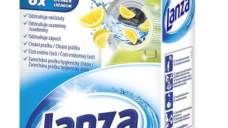 Lanza čistič pračky citron 1 prací dávka