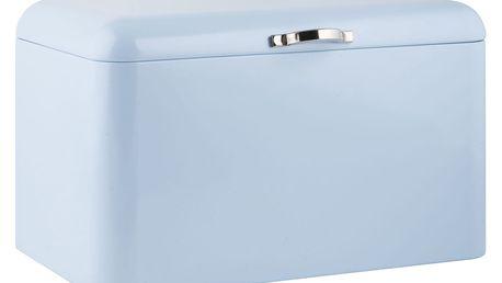 IB LAURSEN Plechový box na pečivo Light blue - vysoký, modrá barva, kov