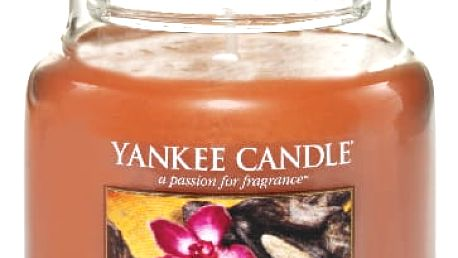 Yankee Candle vonná svíčka střední Oud Oasis, 411 g