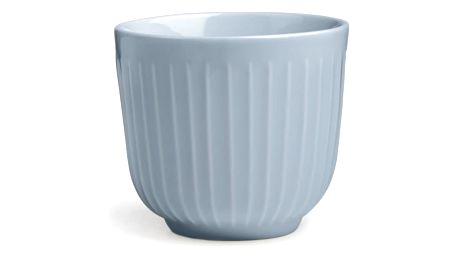 KÄHLER Keramický latte cup Hammershøi Sky, modrá barva, keramika