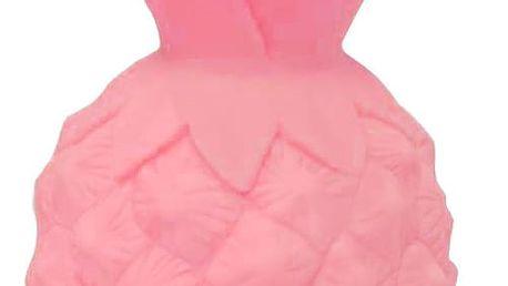 A Little Lovely Company Noční LED lampička Pink Pineapple, růžová barva, plast