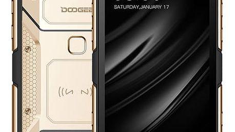 Mobilní telefon Doogee S60 Dual SIM 6 GB + 64 GB zlatý + dárek (6924351617219)