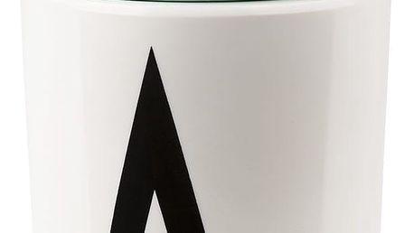 DESIGN LETTERS Víčko na pití pro melaminový hrneček Turquoise, zelená barva, melamin