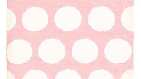 GREEN GATE Bavlněná utěrka Aura Peach 50 x 70 cm, růžová barva, textil
