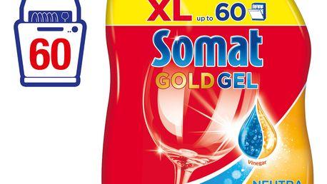 SOMAT Gold Gel NeutraFresh 60 mytí - na automatické mytí nádobí
