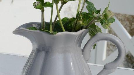 IB LAURSEN Džbánek Mynte French grey - menší, šedá barva, keramika