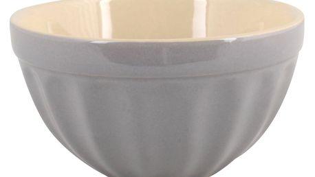 IB LAURSEN Miska na müsli Mynte French grey, šedá barva, keramika