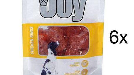 Calibra Joy Dog Chicken Rings 6 x 80g