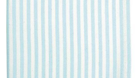 GREEN GATE Kuchyňská utěrka Alice Pale blue, modrá barva, textil
