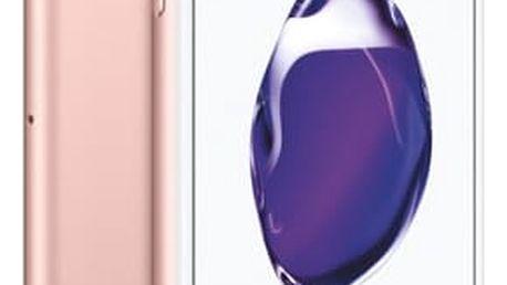 Mobilní telefon Apple iPhone 7 128 GB - Rose Gold + dárek (MN952CN/A)