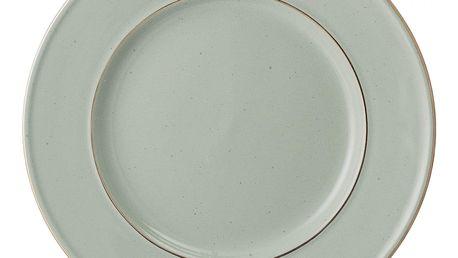 Bloomingville Dezertní talíř Spring Green, zelená barva, keramika