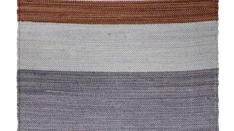 Bloomingville Kobereček Multicolor 60x120 cm, růžová barva, modrá barva, šedá barva, hnědá barva, textil