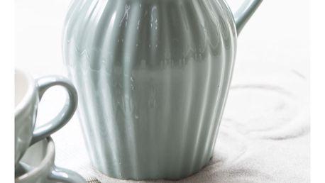 IB LAURSEN Džbán Mynte Green Tea 1,7 l, zelená barva, keramika