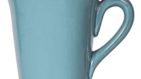 CÔTÉ TABLE Hrnek bleu, modrá barva, keramika 400 ml