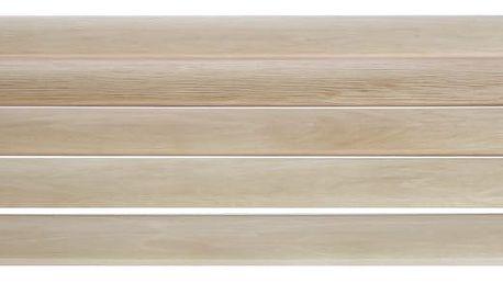 Dřevěná podložka do koupelny Iris Hantverk, 65x23cm