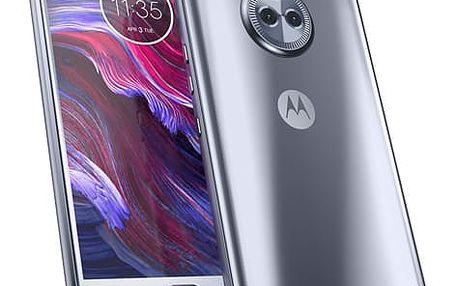 Mobilní telefon Motorola Moto X4 Dual SIM (PA8X0007CZ) modrý + DOPRAVA ZDARMA