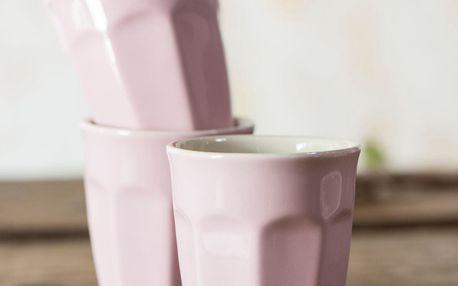 IB LAURSEN Latte hrneček Mynte english rose 250 ml, růžová barva, keramika