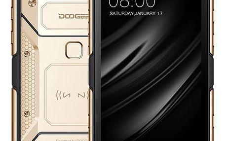 Mobilní telefon Doogee S60 Dual SIM 6 GB + 64 GB (6924351617219) zlatý Software F-Secure SAFE, 3 zařízení / 6 měsíců v hodnotě 979 Kč + DOPRAVA ZDARMA