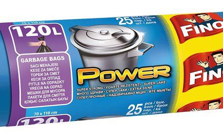 Fino Power odpadkové pytle extra silné, 120 l 25 ks
