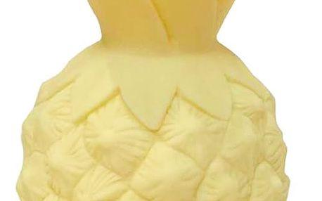 A Little Lovely Company Noční LED lampička Yellow Pineapple, žlutá barva, plast