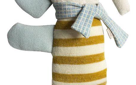 Maileg Látkový slon Elephando, multi barva, textil
