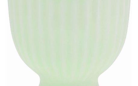 GREEN GATE Stojánek na vajíčko Alice pale green, zelená barva, porcelán
