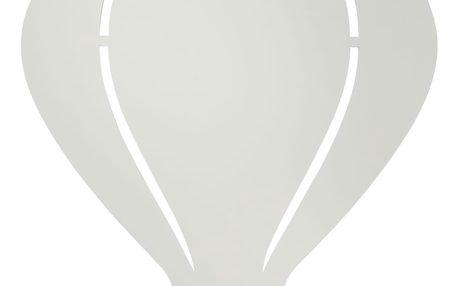 ferm LIVING Dětská nástěnná lampa Balloon Grey, šedá barva, dřevo