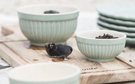 IB LAURSEN Keramická mini miska Mynte Green Tea Velikost S, zelená barva, keramika