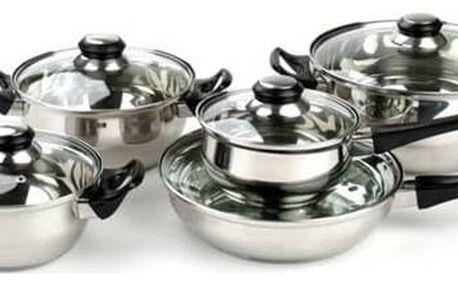 Apetit 10-dílná sada nerezového nádobí