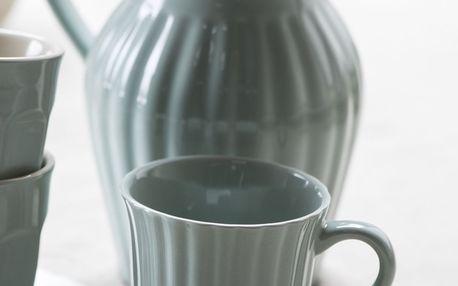 IB LAURSEN Hrnek Mynte Green Tea, zelená barva, keramika