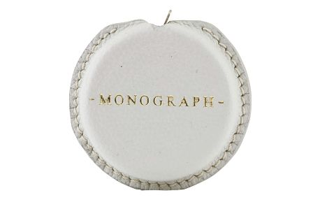 MONOGRAPH Svinovací metr v koženém pouzdře Grey (3 m), šedá barva, kov, kůže
