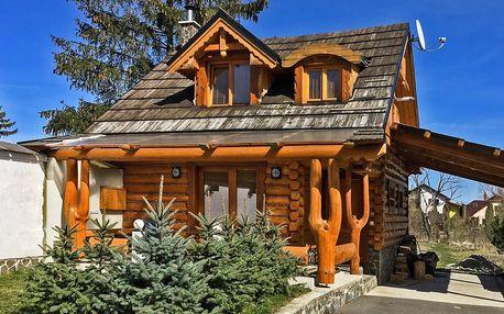 Jaro ve Vysokých Tatrách v romantické dřevěnici