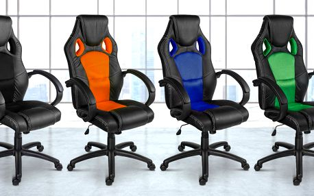 Kancelářské židle GS Series v několika barvách