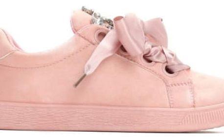 Dámské růžové tenisky Sindy 8290