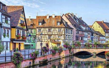 Štrasburk, Basilej a Rýnské vodopády s noclehem