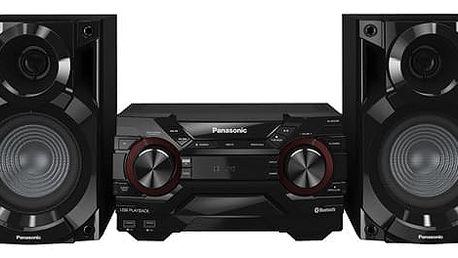 Minisystém Panasonic SC-AKX200E-K černá + dárek