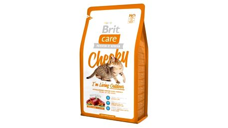 Brit Care Cat Cheeky I´m Living Outdoor 7 kg