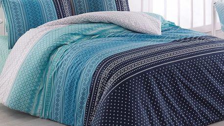 Bedtex povlečení bavlna Summer Modré