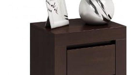 Moderní noční stolek DEKO D2 wenge